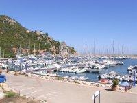 Yachthafen Santa Maria Navarrese Fotos und Bilder