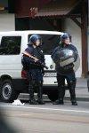 Polizei Abwarten