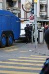 Polizei bewacht