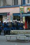 Gruppierte Polizei