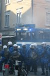 Wasserwerfer Polizei Zürich